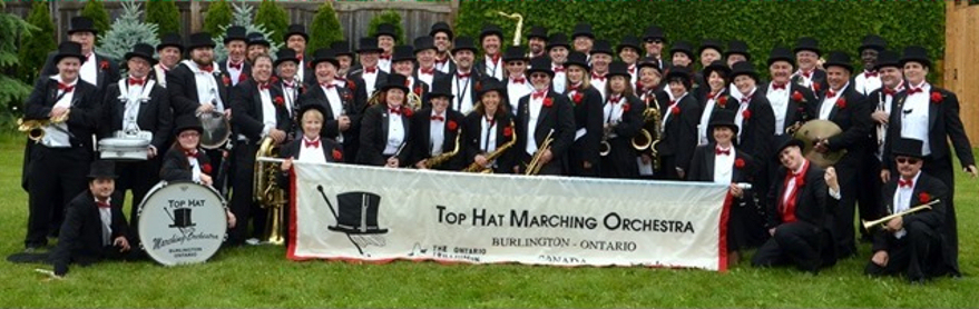 Top Hat Orchestra group picture